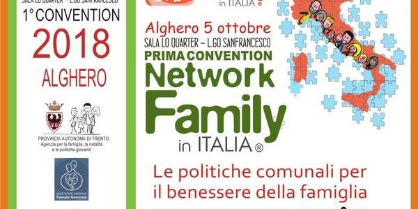 Immagine decorativa per il contenuto La Convention del Network Family in Italia